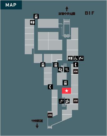 日産レンタカー 新宿パークタワー店のイメージ