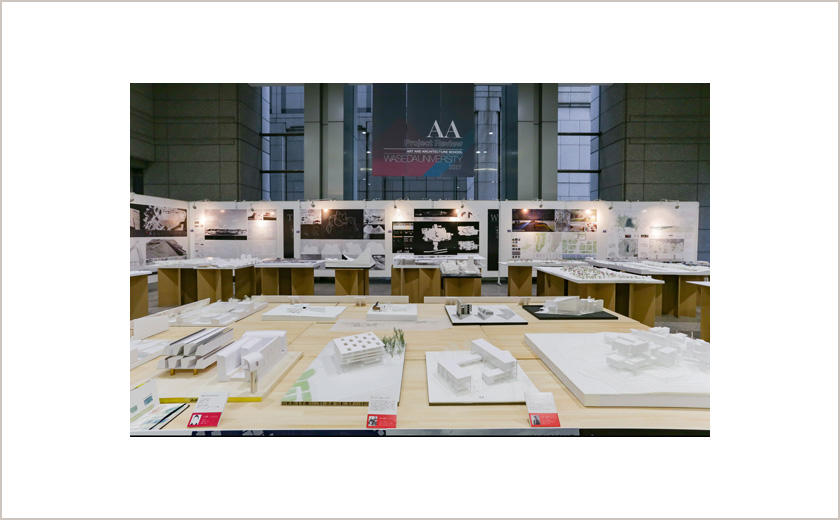 早稲田大学芸術学校卒業設計・学生作品展