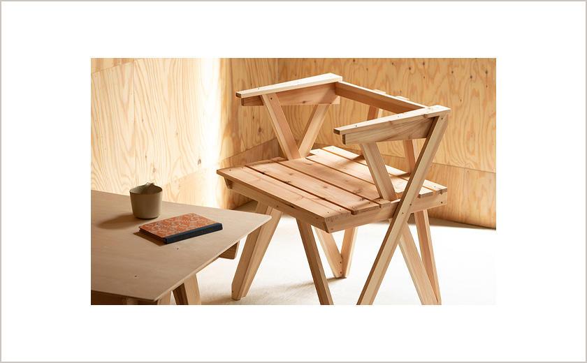 杉のDIY デザイン展