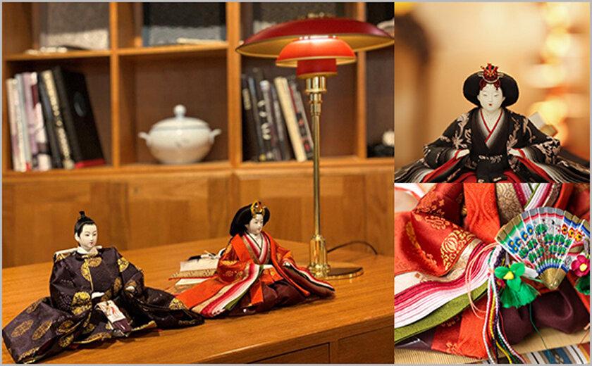 インテリア・アートとして楽しむ雛人形<br />「桂雛(かつらびな)」展示受注会開催